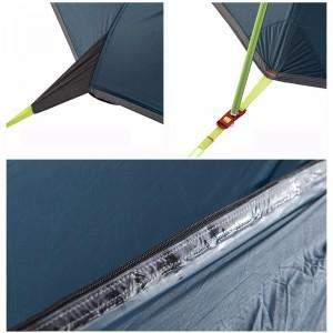 фото Палатка NatureHike 'Taga 2' (2-х местная) 20D silicone, green (NH17T180-J) #13