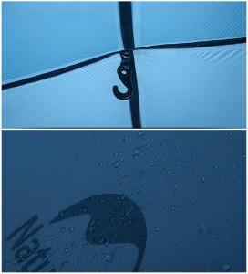 фото Палатка NatureHike 'Taga 2' (2-х местная) 20D silicone, green (NH17T180-J) #14