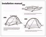 фото Палатка NatureHike 'Taga 2' (2-х местная) 20D silicone, green (NH17T180-J) #5