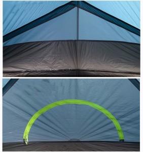 фото Палатка NatureHike 'Taga 2' (2-х местная) 20D silicone, green (NH17T180-J) #8