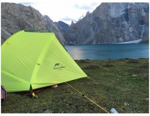 фото Палатка NatureHike 'Taga 2' (2-х местная) 20D silicone, green (NH17T180-J) #9