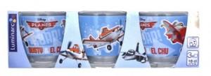 Набор стаканов Luminarc 'Disney Planes' 3x160 мл (J0803)