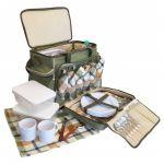 Пикниковый набор посуды на 6 персон 'Ranger', с термосумкой (НВ6-520) (RA 9902)