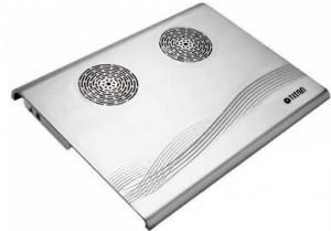 Подарок Подставка для ноутбука Titan 2xFans + USB HUB 4 port (TTC-G3 TZ/SB)