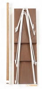 фото Подвесная полка 'Wood Levels' Hairpinlegs #5