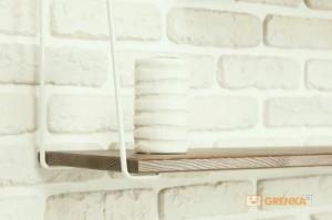 фото Подвесная полка 'Wood Levels' Hairpinlegs #2