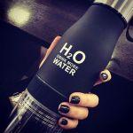 фото Бутылка H2O water bottles, черная, 650 мл #3
