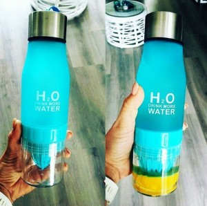 фото Бутылка H2O water bottles, черная, 650 мл #6