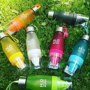 фото Бутылка H2O water bottles, черная, 650 мл #10