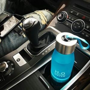 фото Бутылка H2O water bottles, черная, 650 мл #11