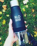 фото Бутылка H2O water bottles, черная, 650 мл #2