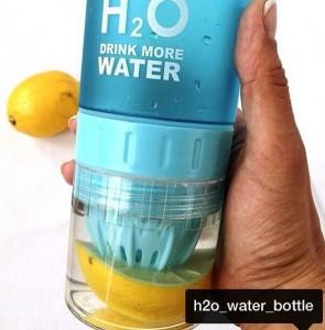 фото Бутылка H2O water bottles, черная, 650 мл #14