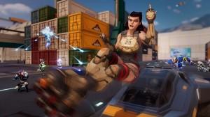 скриншот Agents of Mayhem Day One Edition PS4 - Agents of Mayhem. Издание первого дня - Русская версия #8