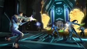 скриншот Agents of Mayhem Day One Edition PS4 - Agents of Mayhem. Издание первого дня - Русская версия #7