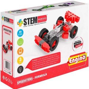 Конструктор Engino Stem Heroes Спортивные автомобили: формула (SH31)