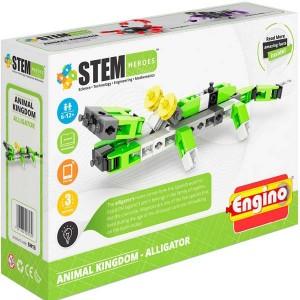 Конструктор Engino Stem Heroes Царство животных: аллигатор (SH13)