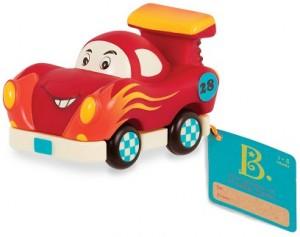 Машинка инерционная Battat 'Забавный автопарк' гоночная машинка (BX1496Z)