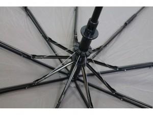 фото Зонт полуавтомат в 3 сложения с проявкой (антиветер) (мятный) #5