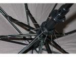 фото Зонт полуавтомат в 3 сложения с проявкой (антиветер) (мятный) #12