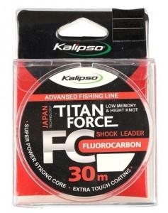 Флюорокарбон Kalipso Titan Force FC Leader 30м 0.14мм (3906006)