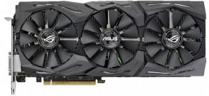 Видеокарта Asus GeForce GTX1080 Ti 11GB GDDR5X Gaming Strix ROG (STRIX-GTX1080TI-11G-GAM)