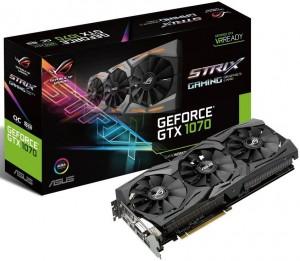 Видеокарта Asus GeForce GTX1080 Ti 11GB GDDR5X Gaming Strix ROG (STRIX-GTX1080TI-O11G-GAM)