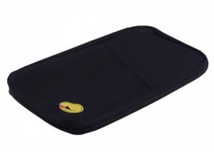 Подарок Органайзер для путешествий Avia Travel Bag (самолетик принтом) черный