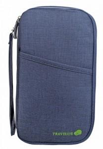 Подарок Органайзер для путешествий AviaTravel+, синий