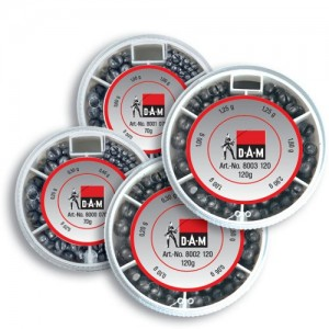 Набор грузов (дробь) DAM Split Shot Dispenser 70гр (8000070)