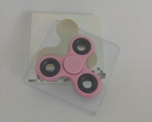 фото Спиннер с утяжелителем на подшипнике, розовый #5