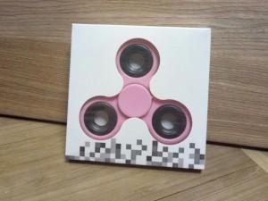 фото Спиннер с утяжелителем на подшипнике, розовый #4