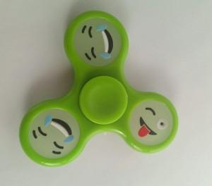 фото Спиннер для рук 'Смайл', зеленый #2