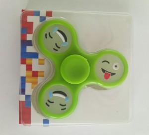 фото Спиннер для рук 'Смайл', зеленый #8