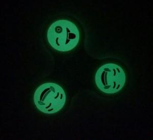 фото Спиннер для рук 'Смайл', зеленый #6