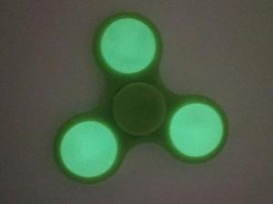 фото Спиннер для рук 'Смайл', зеленый #4