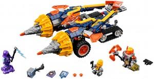 фото Конструктор LEGO Nexo Knights 'Бур-машина Акселя' (70354) #5