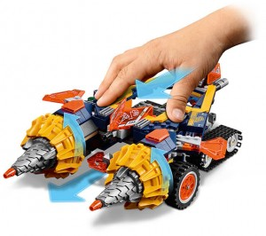 фото Конструктор LEGO Nexo Knights 'Бур-машина Акселя' (70354) #4