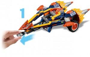 фото Конструктор LEGO Nexo Knights 'Бур-машина Акселя' (70354) #3