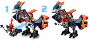 фото Конструктор LEGO Nexo Knights 'Дракон Мэйси' (70361) #5