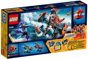 фото Конструктор LEGO Nexo Knights 'Дракон Мэйси' (70361) #2