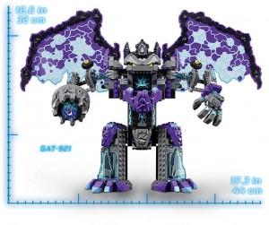 фото Конструктор LEGO Nexo Knights 'Каменный великан-разрушитель' (70356) #5