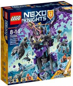 Конструктор LEGO Nexo Knights 'Каменный великан-разрушитель' (70356)