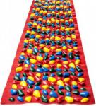 Коврик массажный с цветными камнями Onhillsport  200 х 40 см (MS-1269)
