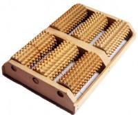 Массажер трехрядный для двух стоп (MD-1306)