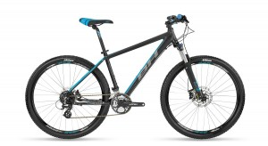 Велосипед BH Spike 27,5'' 24SP Black-Blue M (BH A1977.N69-M)