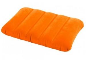 Надувная подушка Intex оранжевая (68676-о)
