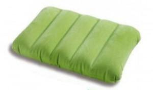 Надувная подушка Intex зеленая (68676-з)
