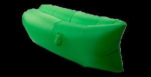 Подарок Надувной диван зеленый (Lamzac)