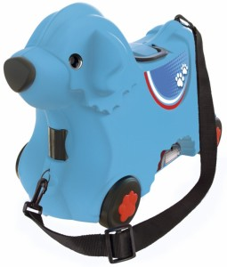 Чемодан-каталка Big Bobby Trolley 'Путешествие', голубой (55352)