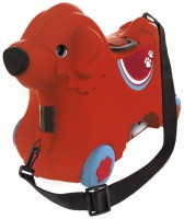 Чемодан-каталка Big Bobby Trolley 'Путешествие', красный (55350)
